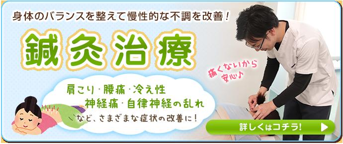 姫路坂口鍼灸整骨院・整体院 花田院 身体のバランスを整えて慢性的な不調を改善するための鍼灸治療